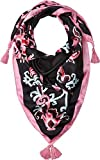 Kate Spade New York Women's Tapestry Silk Square Scarf, Black, One Size