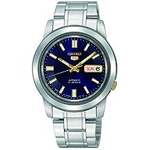 Seiko Men's SNKK11 Automatic-Self-Wind Blue Dial Watch