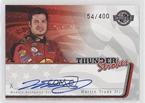 (Martin Truex Jr. #154/400 (Trading Card) 2006 Wheels American Thunder - Thunder Strokes Autographs #MATR)