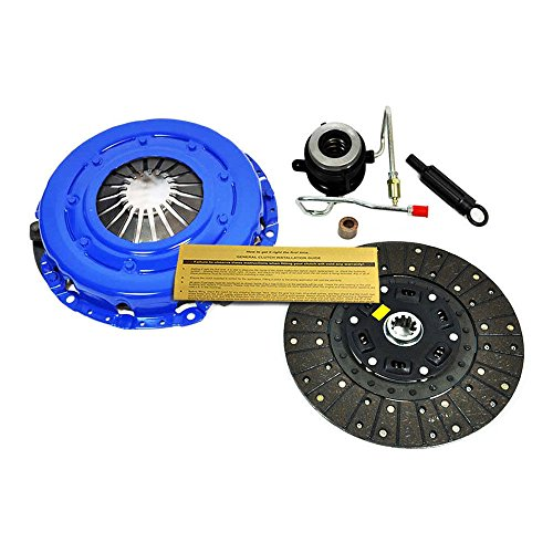 (EFT STAGE 2 CLUTCH KIT w SLAVE 89-92 JEEP CHEROKEE WRANGLER 4.0L 4.2L AISIN TRANS)