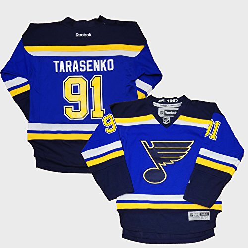 - Outerstuff NHL Youth 8-20 Screen Printed Premier Player Name and Number Home Jersey (Small/Medium 8-12, Vladimir Tarasenko)