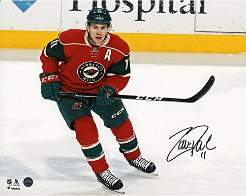 Zach Parise Minnesota Wild Autographed 8