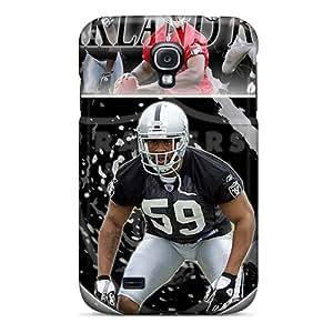 MarilouLCariso Fashion Protective Oakland Raiders Case Cover For Galaxy S4