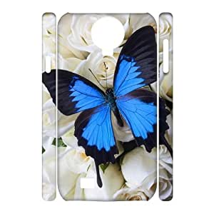 Butterfly Unique Design 3D Cover Case for SamSung Galaxy S4 I9500,custom cover case ygtg523889