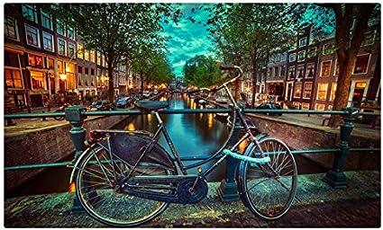 Países Bajos bicicleta valla C * * * * Amsterdam ciudades sitios ...