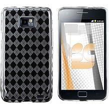 Samsung Galaxy 2 / i9100 TPU Protector Case - Clear Check