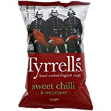 Tyrrell's Chips Lisses Piment Doux/Paprika 150 g - Lot de 12