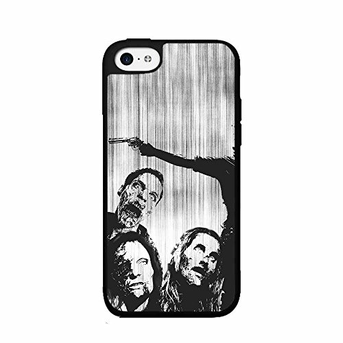 Kill Them Zombies 2-Piece Dual Layer Phone Case Back Cover iPhone 4 4s includes BleuReign(TM) Cloth and Warranty Label -
