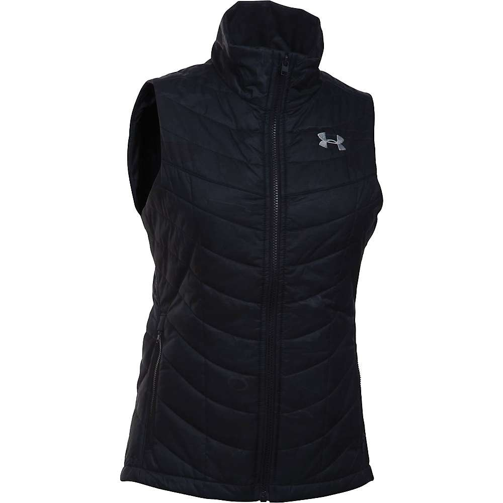 Under Armour Frost Puffer Vest - Women's Black Tonal Reaper / Overcast Grey Small