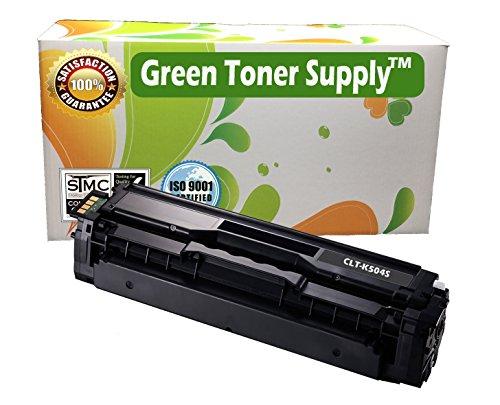 GTS (TM) New Compatible [Samsung CLT-K504S] Black LaserJet Toner Cartridges for CLP-415NW, CLX-4195FW, SL-C1810W, SL-C1860FW