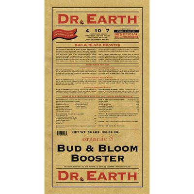 Dr Earth 741 50-Pound Organic Bud and Bloom Booster