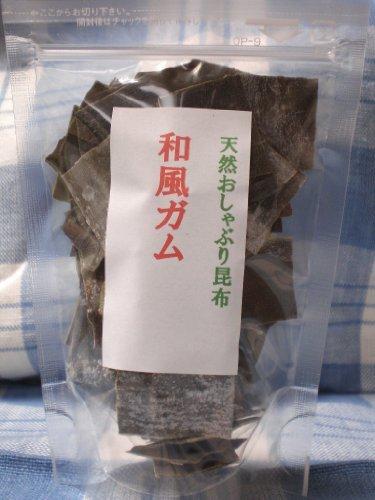 Little bit size Japanese gum ''natural pacifier kelp 35g'' by Creation top kelp