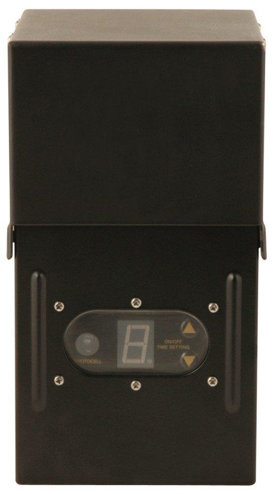 Moonrays 95434 300-Watt Power Pack Control Box with Timer and Sunlight Sensor