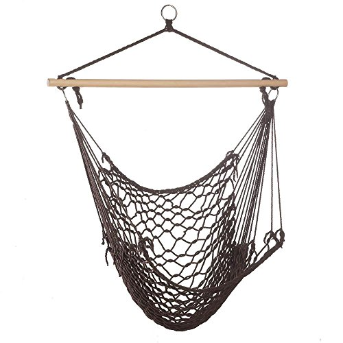 Summerfield Terrace Hammock Swing Chair for Camping, Lightweight and Portable, Cotton ()
