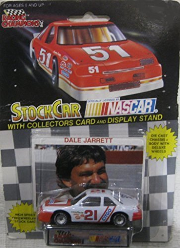 ett Citgo Racing Team Stock Car With Driver's Collectors Card And Display Stand. Racing Champions Black Background Red Series 51 Car by Racing Champions ()