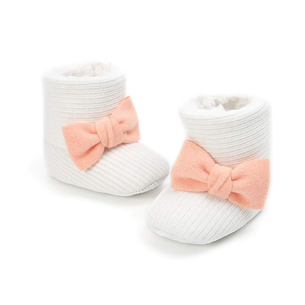 Cute Newborn Baby Boy Girls Socks Infant Cute Bear Crib Warm Shoes Socks Wi