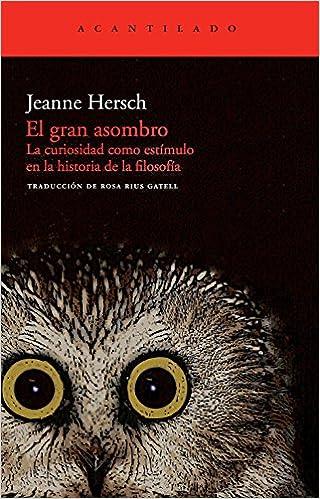 El gran asombro - Jeanne Hersch