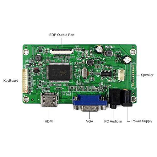HDMI+VGA Input Controller Board Kit LCD Driver Board For B156HAN01.1 LP156WF4 11.6'' 13.3'' 14'' 15.6'' 1920x1080 30Pins edp LCD Screen by LCDBOARD (Image #2)