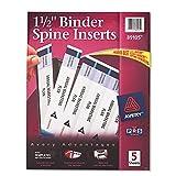 AVE89105 - Avery Custom Binder Spine Inserts