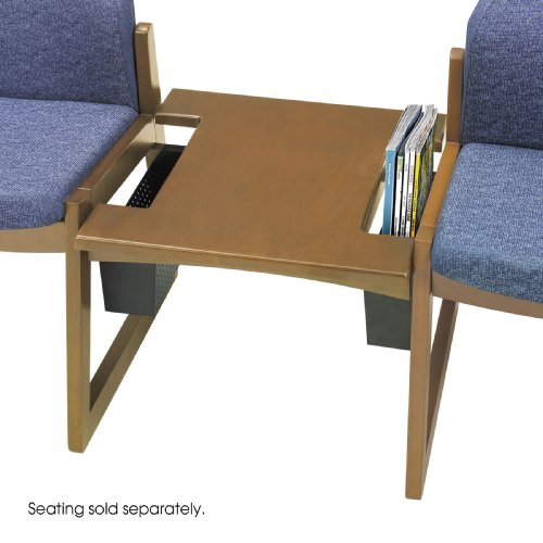 Safco Urbane Straight Connecting Table (End Safco Wood Table)