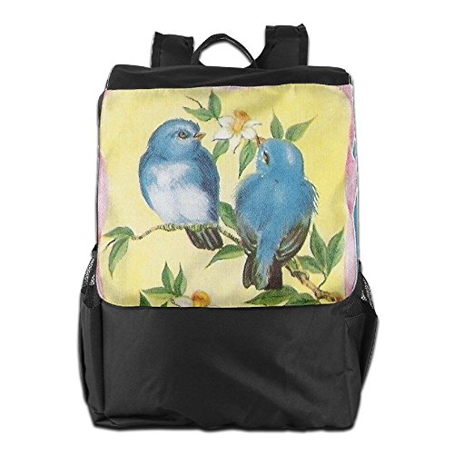 Vintage Travel Birds Personalized Camping Adjustable Outdoors for Dayback Men and Storage HSVCUY School Women Strap Shoulder Backpack Yt0Ww
