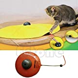Itemap Cat Toy Moving Mouse Cats Kitty Meow Play Undercover Fabric