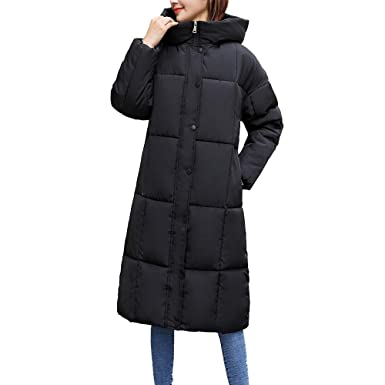 cheaper a8d07 b788d ☺Wintermantel Daunenjacke Damen Langer Übergangs Jacke ...