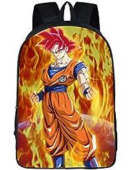 Elite Geeks Dragon Ball Z Nylon Shoulder Bag Schoolbag Backpack