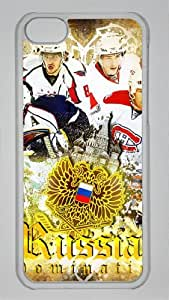 RUSSIAN DOMINATION Custom PC Transparent Case for iPhone 5C by icasepersonalized