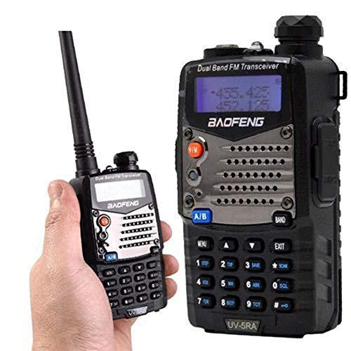 ZUZU Long Range Walkie Talkie Uhf VHF Pofung UV-5RA Upgraded for CB Radio Station Radio Scanner Police Two-Way Radio About 10 Km