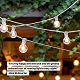 Brightech Ambience Pro - White, LED Globe Outdoor