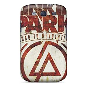 Awesome Linkin Park Flip Cases With Fashion Design For Galaxy S3