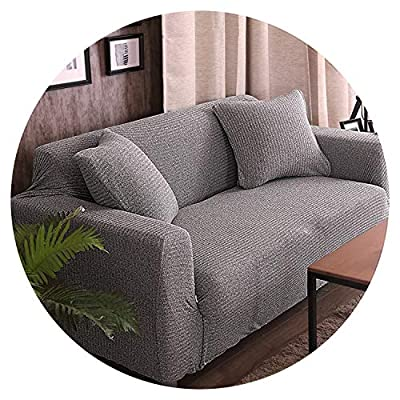 Melange Knitting slipcovers Universal Stretch Sofa Cover Elasticity seat Couch Cover Loveseat Sofa Furniture Cover Towel All wrap