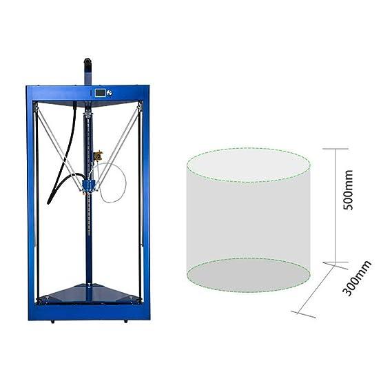 Z.L.FFLZ Impresora 3D Impresora 3D de 300 * 500 mm con nivelación ...