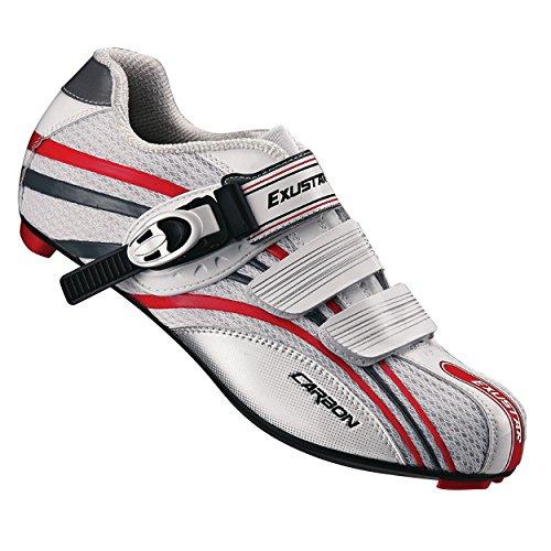 Exustar E-SR931K Road Shoe, White, Size 39