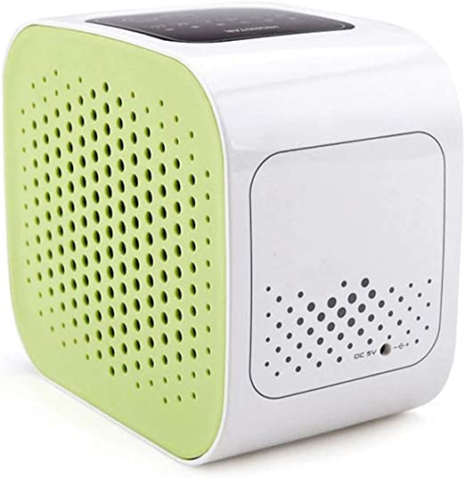 KKDWJ USB Purificador de Aire con filtros de carbón Activo HEPA ...