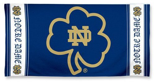 Notre Dame Fighting Irish Beach Bath Towel