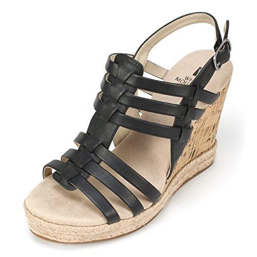Durable modeling Weiß Mountain Schuhes Damens's 'VERONIQUE' Damens's Schuhes Wedge f19303