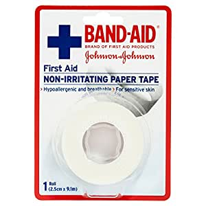 Band-Aid First Aid Paper Tape 9.1m