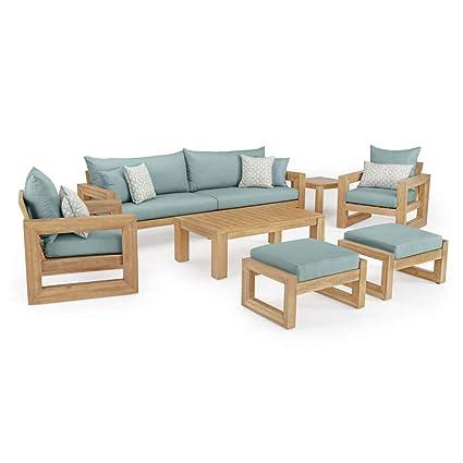 Amazon.com: RST Brands Benson - Juego de sillones y sillas ...