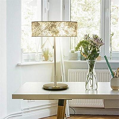 Lámpara de escritorio E14 doble cabezal Moda creativa Lámina de ...