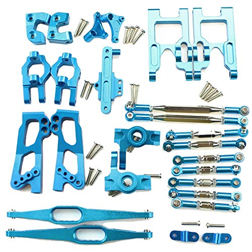 Vaorwne 12428 12423 Upgrade Accessories Kit for Feiyue FY03 WLtoys 12428 12423 1/12 RC Buggy Car Parts Upgrade Metal Parts Kit Replacement