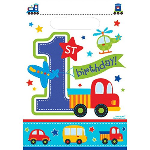 Boy Birthday Loot Bags - 8