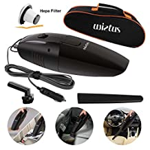 Wietus Portable Handheld Car Vacuum Cleaner with a Portable Bag and 4.5M Power Cord