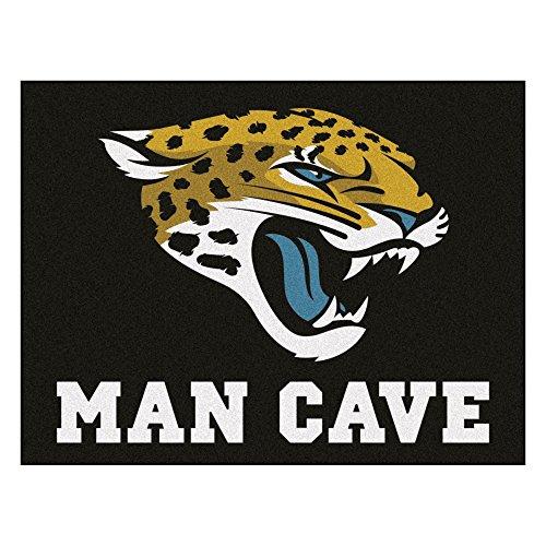 Fanmats 14316 NFL Jacksonville Jaguars Nylon Universal Man Cave All-Star Mat