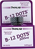 Twin Lab B-12 Dots, 250-Count