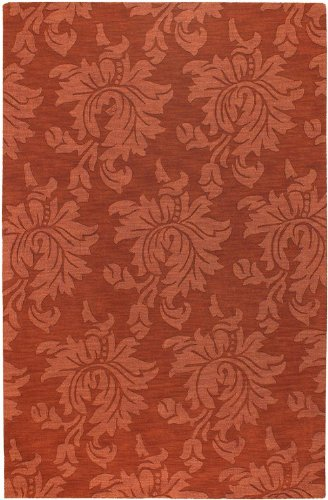 Surya Transitional Rectangle Area Rug 9'x13' Cinnamon Spice Mystique Collection