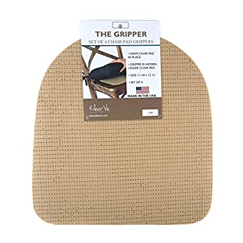 "The Gripper PK-GRPR SKW PK Non Slip Gripper Pads for Chair Cushions, 12.5"" x 11.75"""