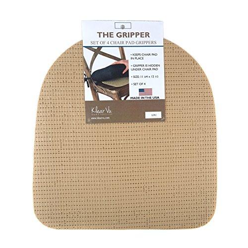 - Klear Vu The Gripper PK-GRPR SKW PK Non Slip Gripper Pads for Chair Cushions, 12.5