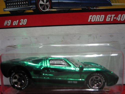 Ford GT-40 (Spectraflame Green) 2005 Hot Wheels Classics Series 2 ()